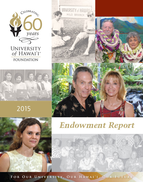 Endowment Report 2015Cover