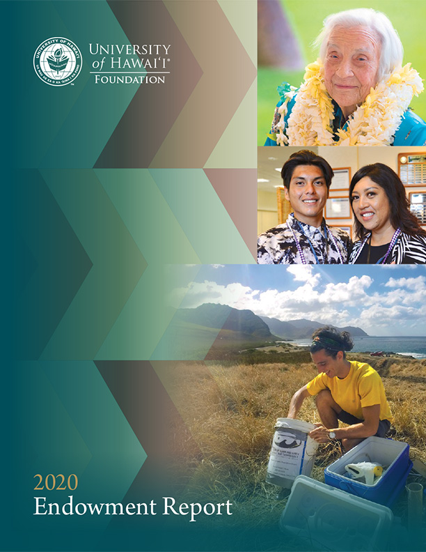 Endowment Report 2020 Cover