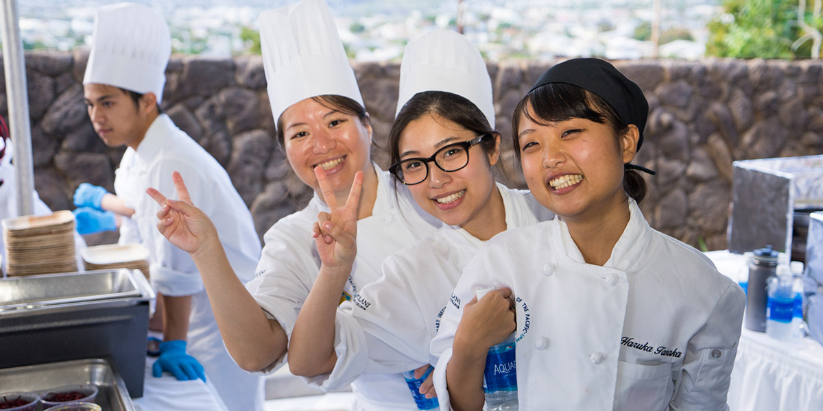 Culinary Institute of the Pacific Students