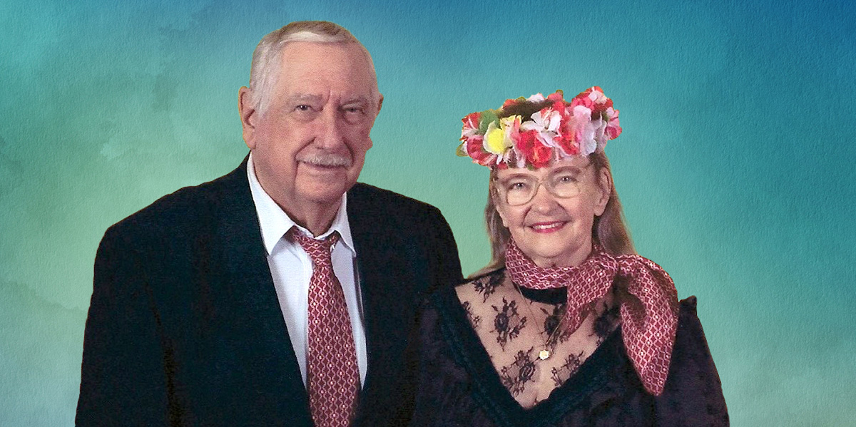 Jacquie Maly and her husband