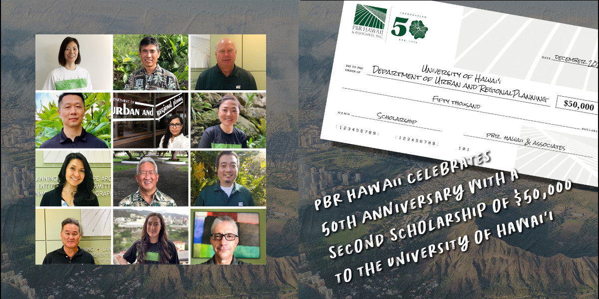 PBR HAWAII DURP scholarship