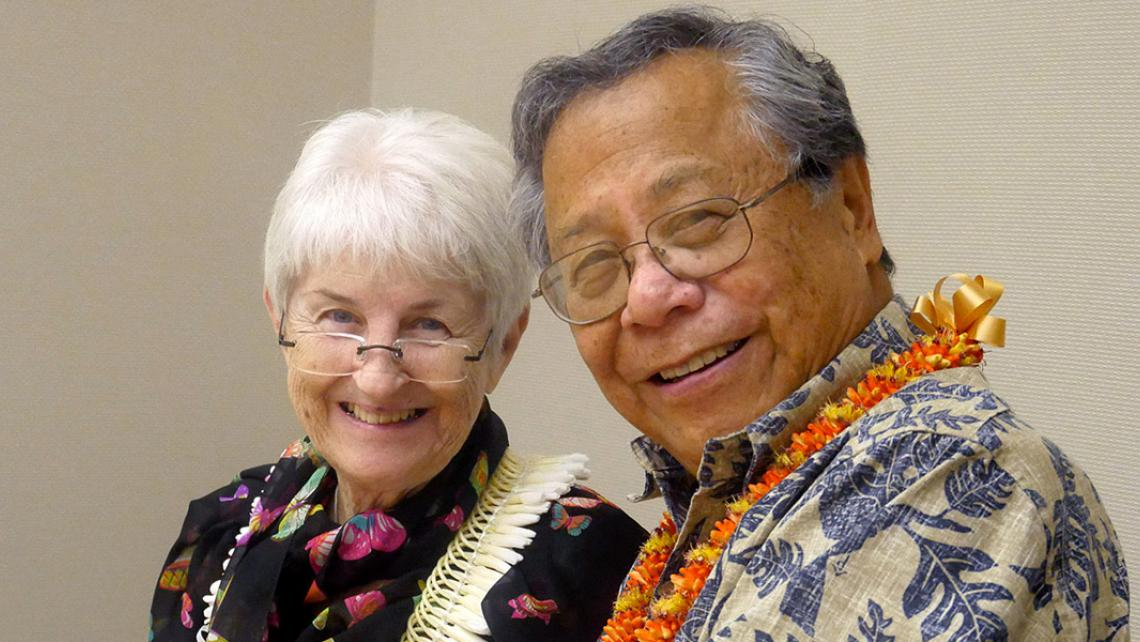 Dr. Benjamin Young and his wife DeDe