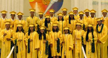 Class of 2017 University of Hawai'i Maui College students who did dual enrollment.
