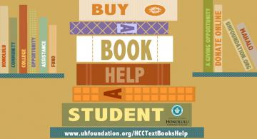 Buy a Book, Help a Honolulu CC Student