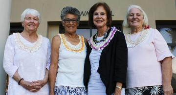 ARCS Foundation Honolulu Chapter members celebrated their friend's legacy at UH Mānoa.