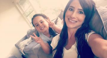 Jolene Lima and daughter