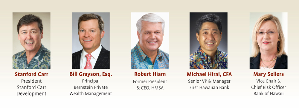 Five Community Leaders Appointed to Board   University of Hawai'i
