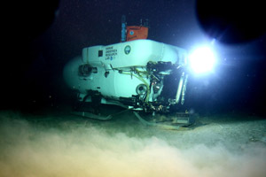 underwater research vehicle