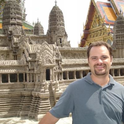 Accounting major Chris Grassi studied at Chulalongkorn University, Thailand