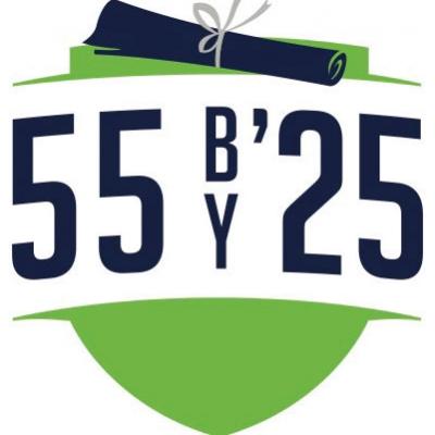 55 By '25 Logo