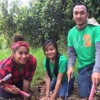 High School Students Learn from the Land
