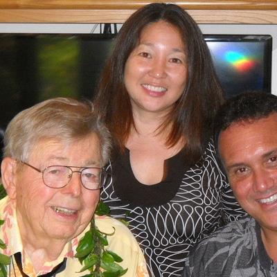 Dr. Earl Bakken; Dr. Sasha Fernandes, JABSOM Department of Native Hawaiian Health; Keawe Kaholokula, Chairman, JABSOM Department of Native Hawaiian Health