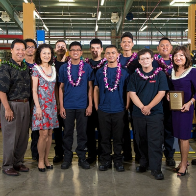 First Hawaiian Bank drives students forward
