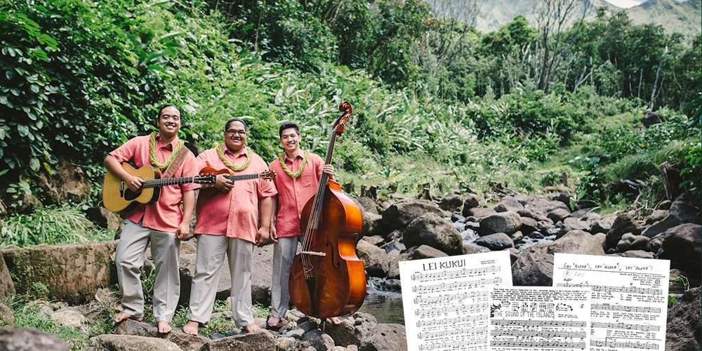 Hawaiian music trio Keauhou